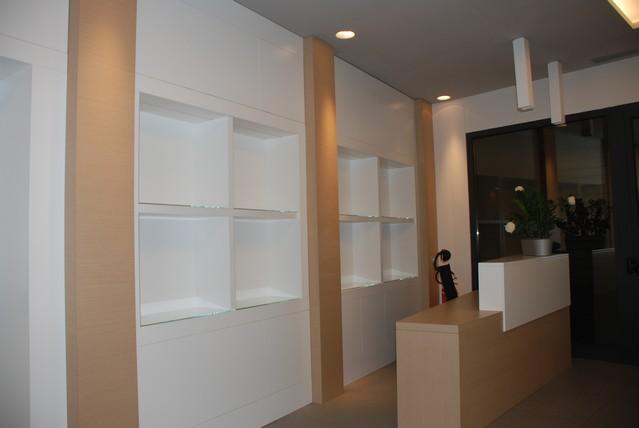 Boiserie in legno roma stile moderno e classico su misura falegnameria roma lavorazioni - Mobili per corridoi ...