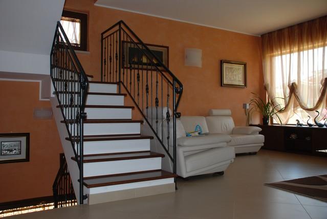 Latest scale in legno su misura di scalini in muratura roma lavorazioni artigianali in legno su - Scale per esterno in muratura ...