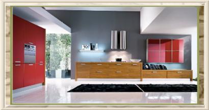 Cucine su misura moderne falegnameria roma lavorazioni artigianali in legno su misura - Cucine in linea moderne ...